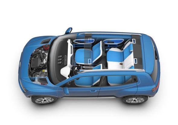 Volkswagen Taigun Compact SUV Concept Pic