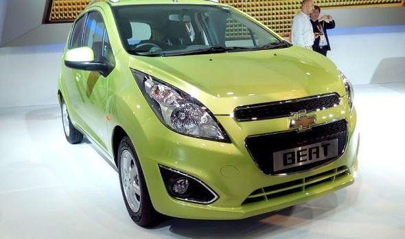 Chevrolet Beat Facelift Picture