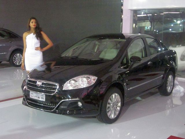 Fiat Linea Sedan Facelift Pic