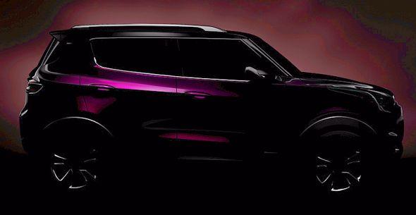 General Motors' Chevrolet Adra Compact SUV Concept Teaser Pic