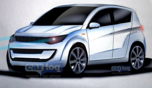 Mahindra S101 Compact SUV Render Picture