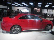 Mercedes Benz CLA Sedan 4