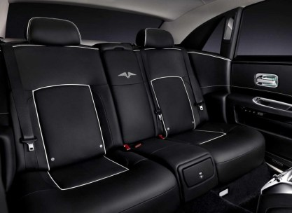 Rolls Royce Ghost V Specification Rear Seat