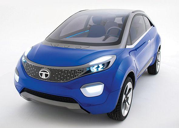 Tata Nexon Compact Crossover Concept Pic