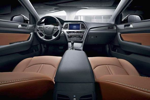 2015 Hyundai Sonata Sedan Facelift Dashboard Photo