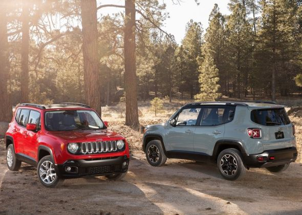Jeep Renegade Compact SUV Pic