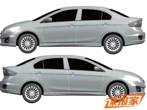 Maruti Suzuki Ciaz Sedan Patent Image 2