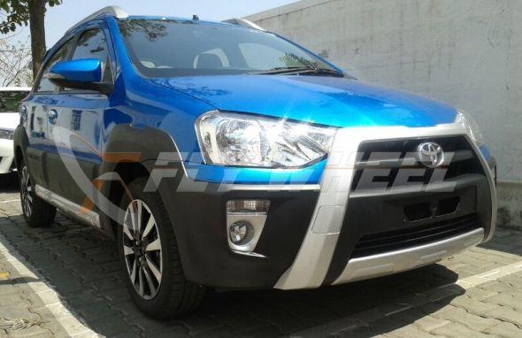 Toyota Etios Cross Spyshot 1