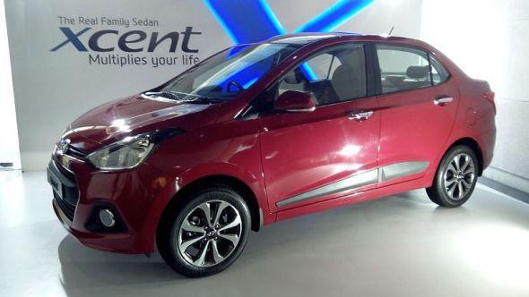 hyundai xcent compact sedan