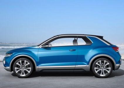 Volkswagen T-ROC SUV Concept 2