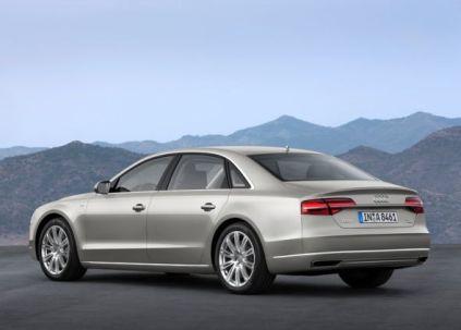 2014 Audi A8L Luxury Saloon 4