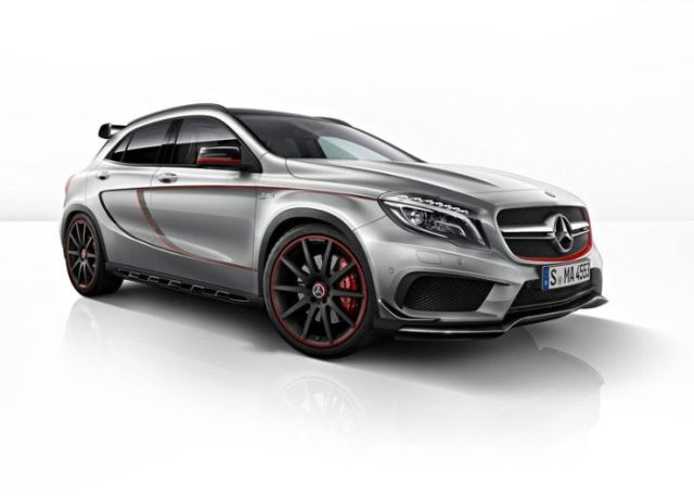 Mercedes Benz GLA 45 AMG High Performance Crossover Picture