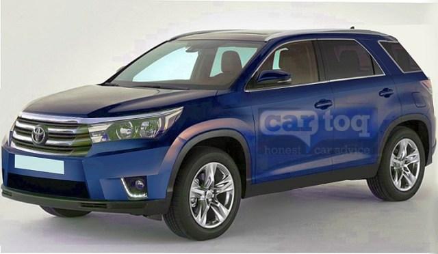 2016 Toyota Fortuner SUV Render Pic