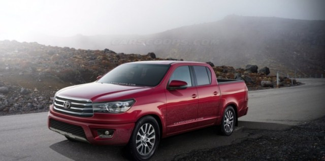 2014 Toyota Hilux Render Pic
