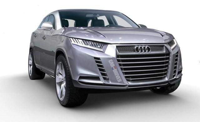 Audi Q8 Luxury Crossover Render Pic