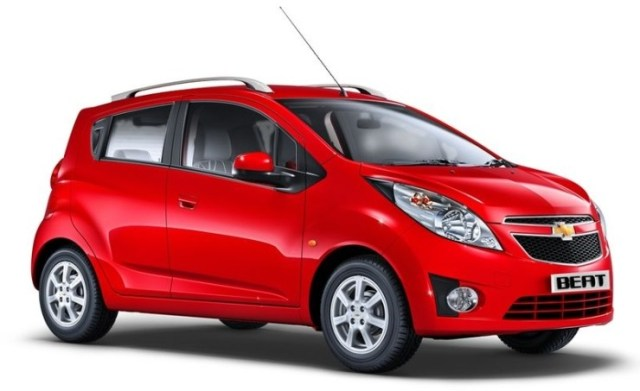 3rd-Gen (Current) Chevrolet Beat hatchback that's sold in India