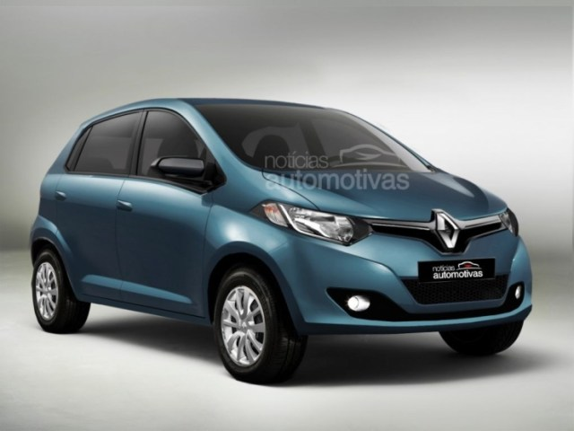 2015 Renault XBA A-Entry Hatchback Render