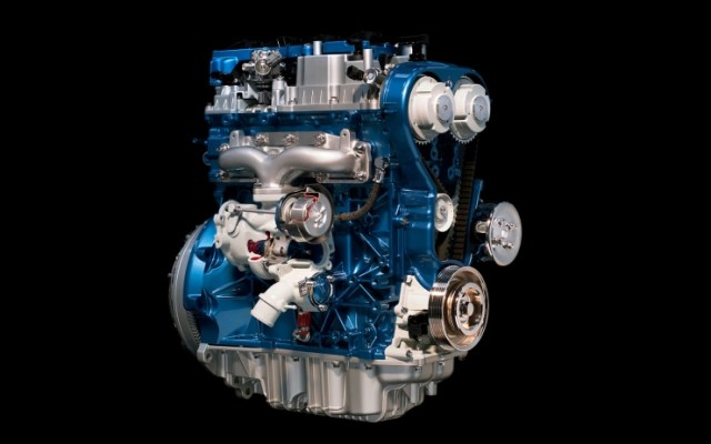 Ford EcoBoost Turbo Petrol Engine Pic