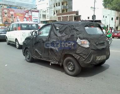 Mahindra S101 Compact SUV Spyshot 3