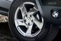 Renault Duster Anthracite Alloy Wheels