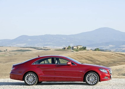 2014 Mercedes Benz CLS350 Four Door Coupe 5
