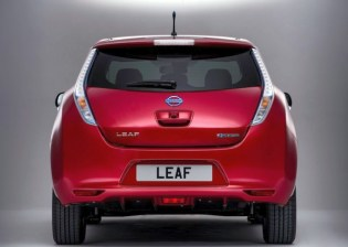 2014 Nissan Leaf Electric Car 4