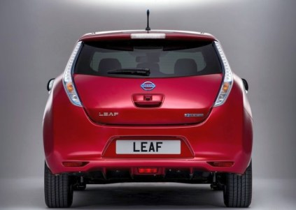 2014 Nissan Leaf Electric Car 4