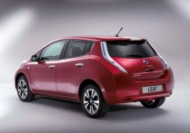 2014 Nissan Leaf Electric Car 6