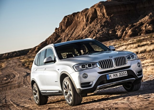 2015 BMW X3 SUV Facelift Pic