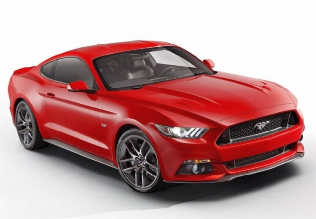 2015 Ford Mustang Front
