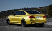 BMW M4 Rear Three Quarters