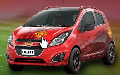 Chevrolet Beat Manchester United Edition 3