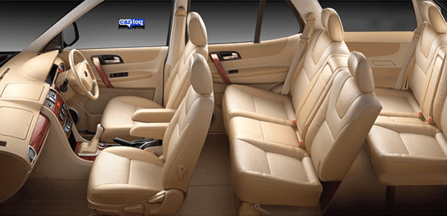 CarToq's speculative render of the Tata Safari Storme Facelift's Interior