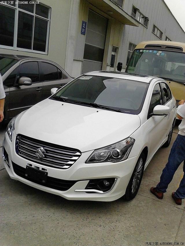 Suzuki Alivio production version sedan in China pic