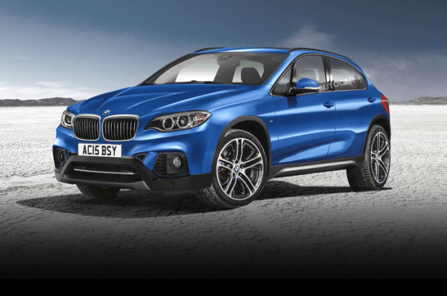 Speculative Render of the 2016 BMW X1 Crossover Image