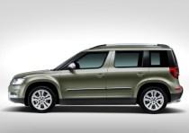 2014 Skoda Yeti SUV Facelift 3
