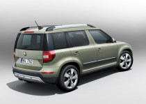 2014 Skoda Yeti SUV Facelift 4