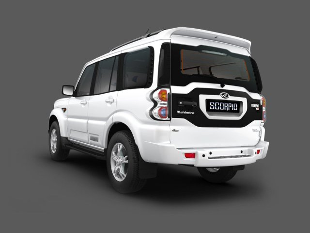 2015 Mahindra Scorpio SUV Facelift 8