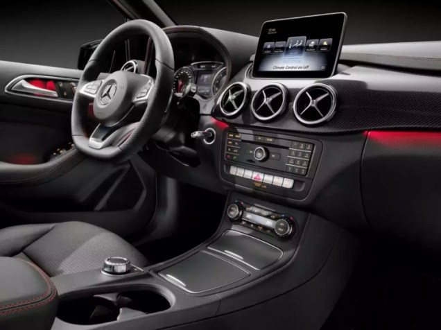 2015 Mercedes Benz B-Class Hatchback Facelift 4