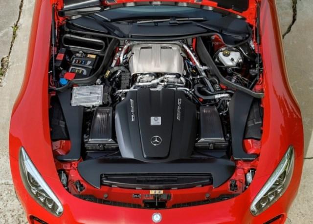 2016 Mercedes Benz AMG GT Sportscar 12