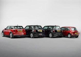 Mini Cooper 4 Generations 1