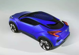 Toyota CH-R Crossover Concept 7