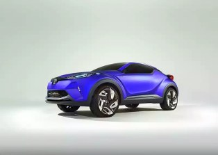 Toyota CH-R Crossover Concept 8