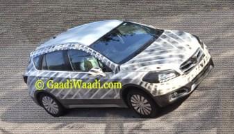 2015 Maruti Suzuki S-Cross Crossover Spyshot 1