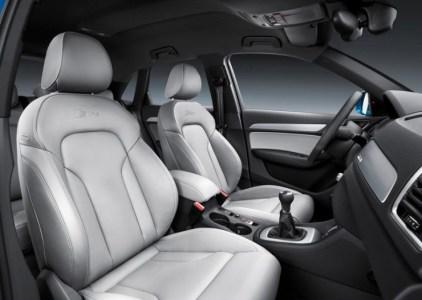 2015 Audi Q3 Facelift Seats