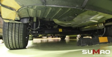 2016 Hyundai Verna Spyshot Underbody