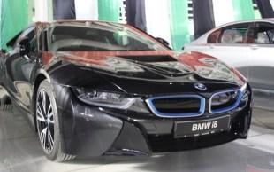 BMW i8 Spyshot 1