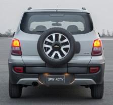 Chevrolet Spin MPV Rear