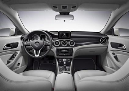 Mercedes Benz CLA Sedan Dashboard