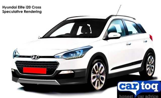 Hyundai i20 Elite Cross - CarToq Render